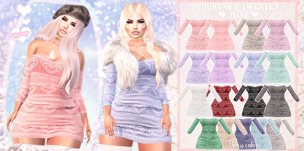 HolliPocket-Courtney Sweater Dress Ad
