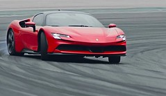 Ferrari made history for the electric car!