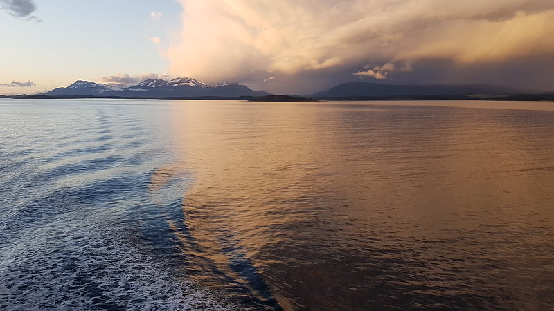 Beagle Channel evening light
