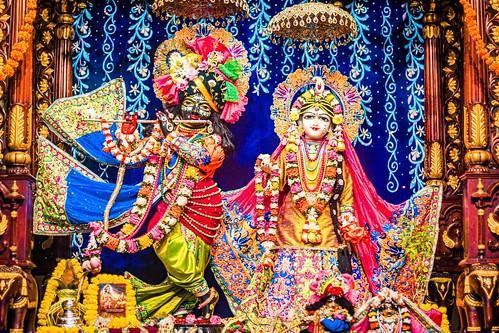 Hare Krishna Temple Ahmedabad Deity Darshan 15 Dec 2019