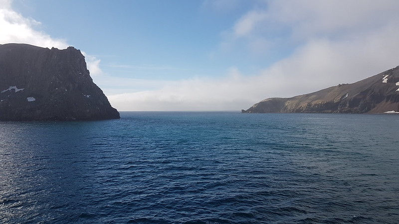 Stern view of Neptunes Bellows | The Deception Island entry