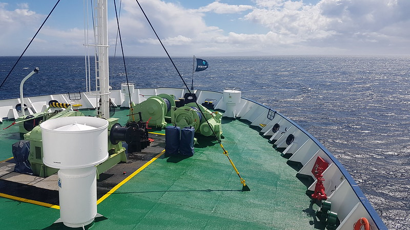 Heading for Beagle Channel - Drake Passage Return Day 2