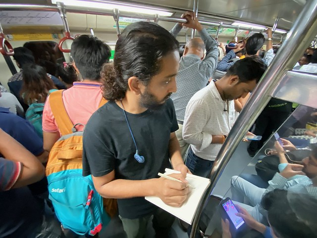 Mission Delhi - Ashish Chauhan, Blue Line Metro