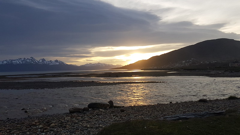 Beagle Channel Sunset