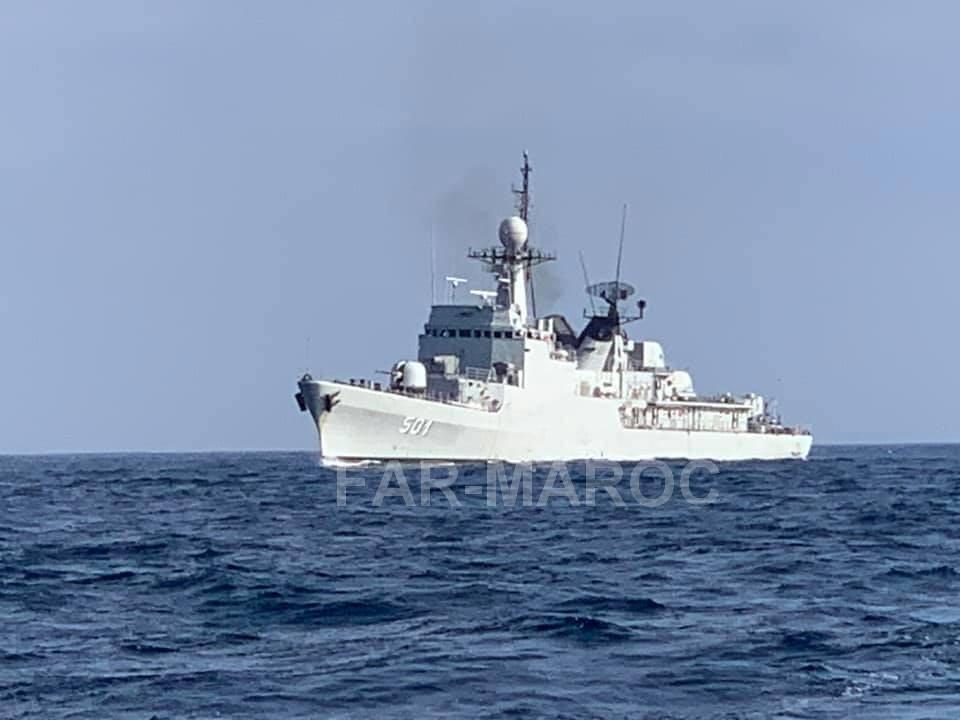 Royal Moroccan Navy Descubierta Frigate / Patrouilleur Océanique Lt Cl Errahmani - Bâtiment École - Page 4 49221551191_26c6f5fb4b_b