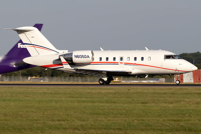 N605DA Bombardier Challenger 605 London Stansted Airport