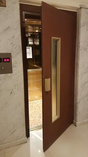 Hinged door elevators, Bristol Hotel, Buenos Aires