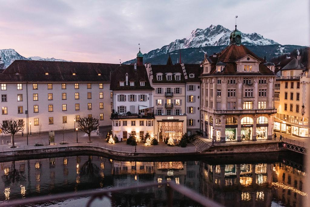 hotel des balances luzern näkymä