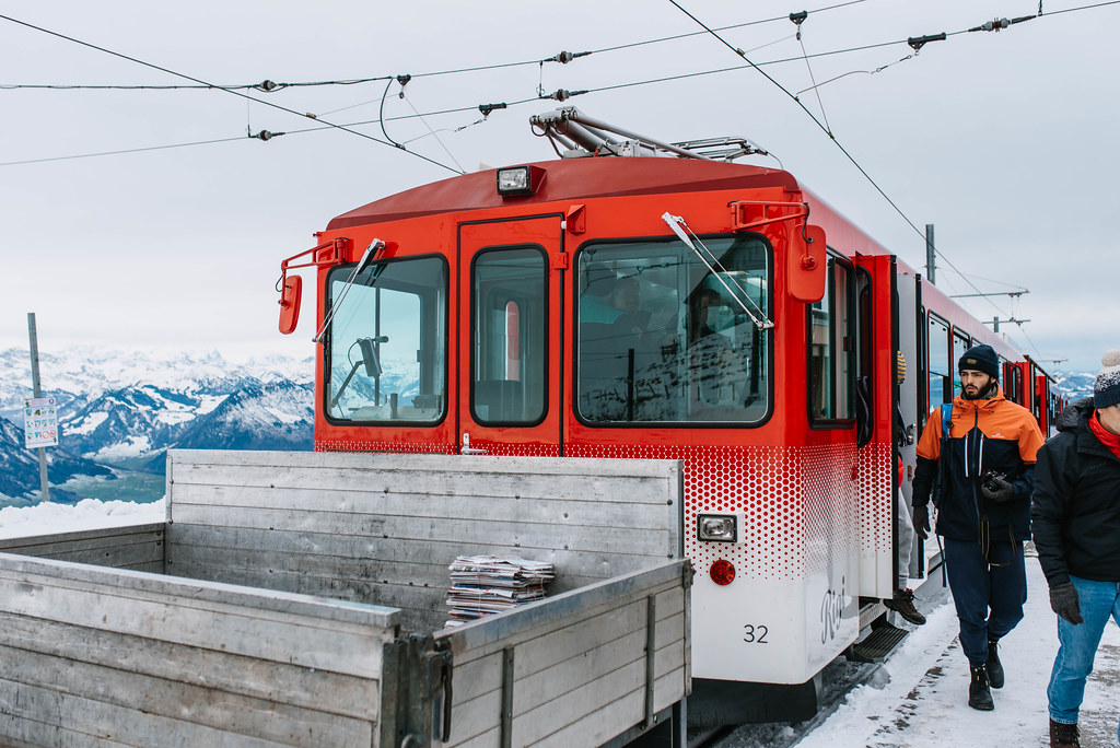 Mt. Rigi cogwheel train