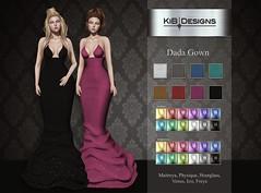 KiB Designs - Dada Gown @Trunk Show Event