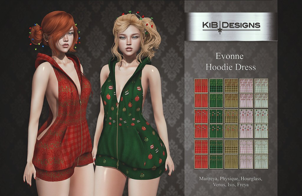 KiB Designs – Evonne Hoodie Dress @Sense Event