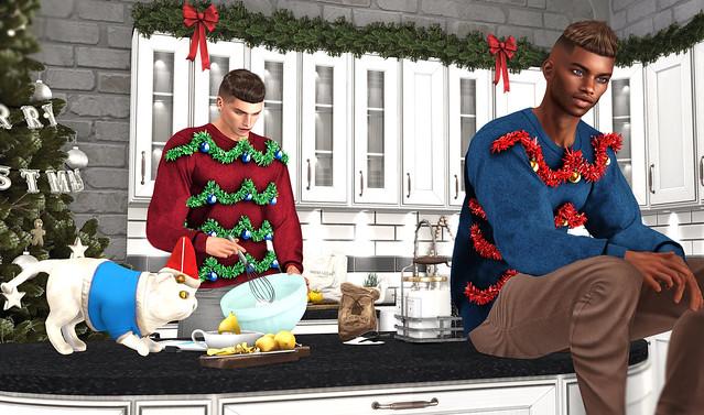 Christmas cooking with Kash