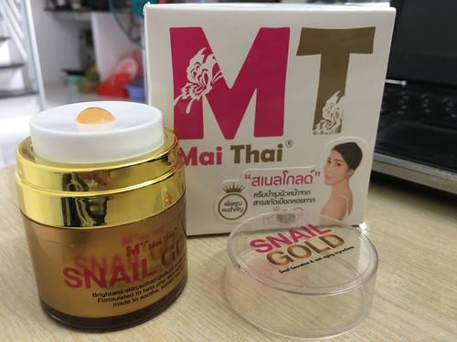 Review kem Snail Gold Thái Lan – Kem Ốc Sên
