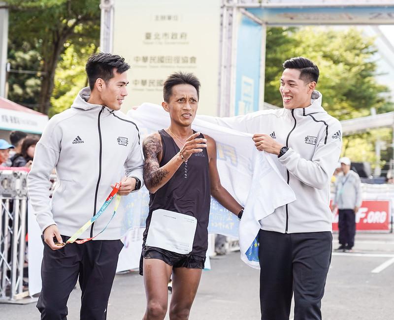 擔任活動大使的楊俊瀚(圖左)、陳傑(圖右)。(圖/台北市政府提供)