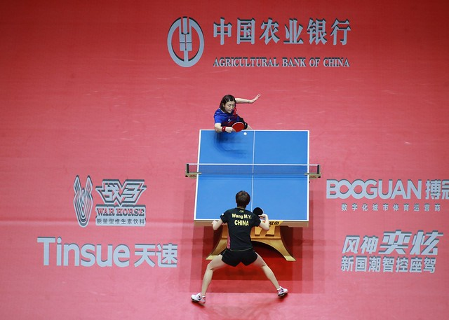 Day 4 - Agricultural Bank of China 2019 ITTF World Tour Grand Finals