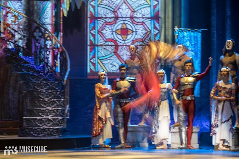 """Премьера балетного спектакля """"Дракула"""" по мотивам бестселлера Брэма Стокера на сцене БКЗ """"Октябрьский"""" в Санкт-Петербурге."""