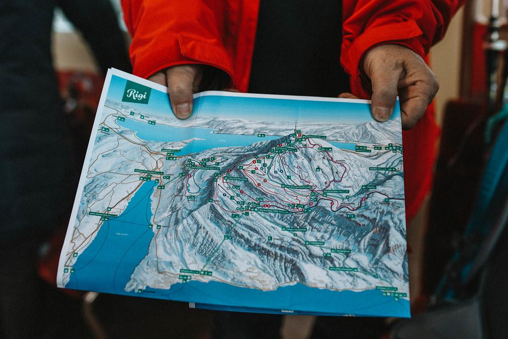 Mt. Rigi map