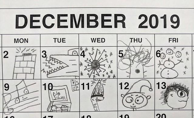 December Doodles