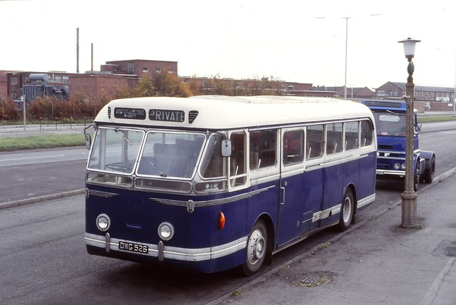 Aintree & District Preservation Society , Liverpool . DWG526 . Aintree , Liverpool . Sunday 04th-November-1979 .