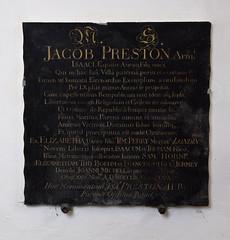 James Preston, 1753