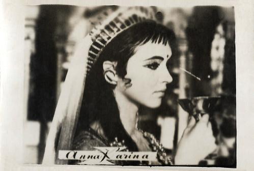 Anna Karina in Shéhérazade (1963)