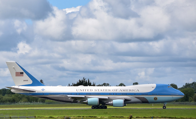 92-9000    AF1     Air Force One     VC-25A