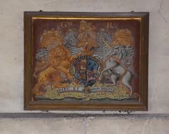 G III R royal arms