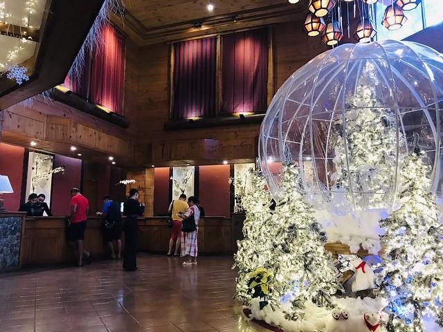 Manor Hotel Lobby