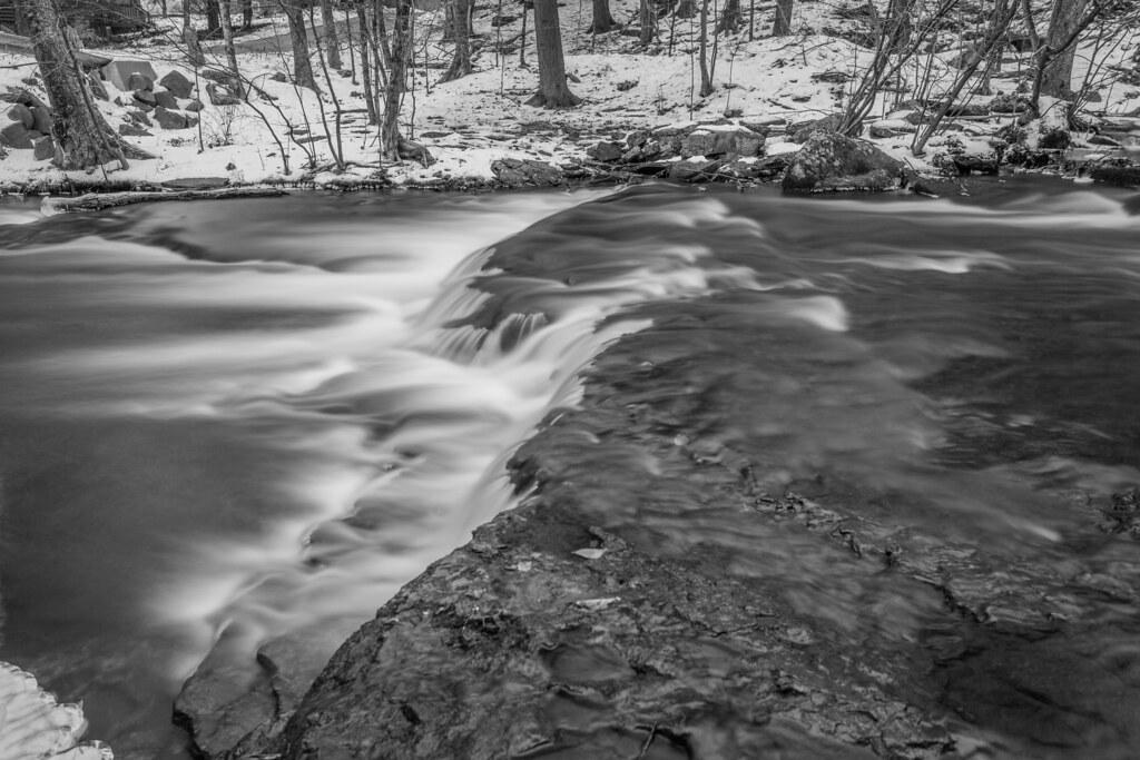 December Flow Over Minnie Falls (Alternate Take 3)