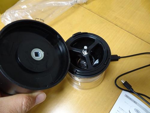 電動臼式コーヒーミル オーシャンリッチ UQ-ORG1BL レビュー