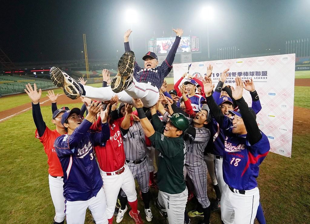 日本社會人隊獲得冬盟冠軍。(中華職棒提供)