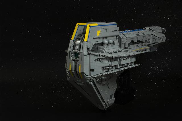 LEGO Starhawk-class Battleship - Star Wars MOC