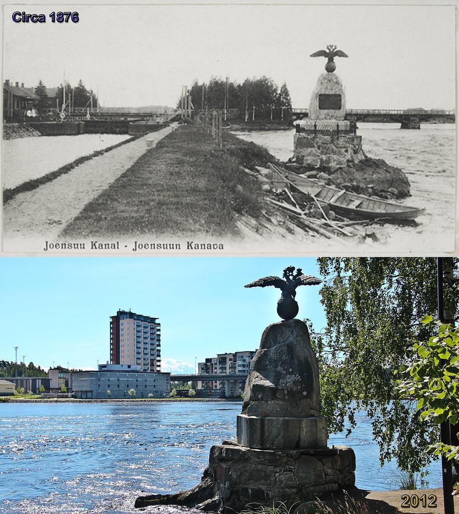 Kanava Comparison 1876 - 2012