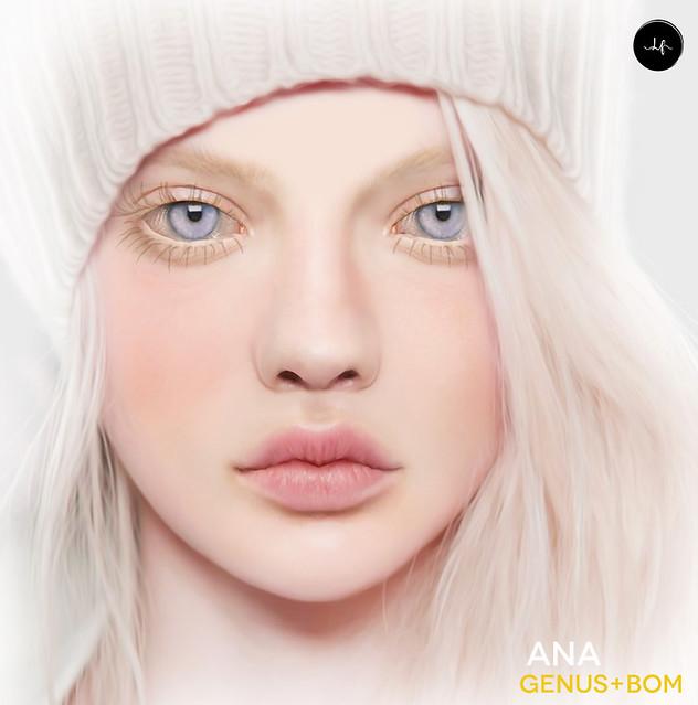 Ana skin applier for Genus@Winter Spirit