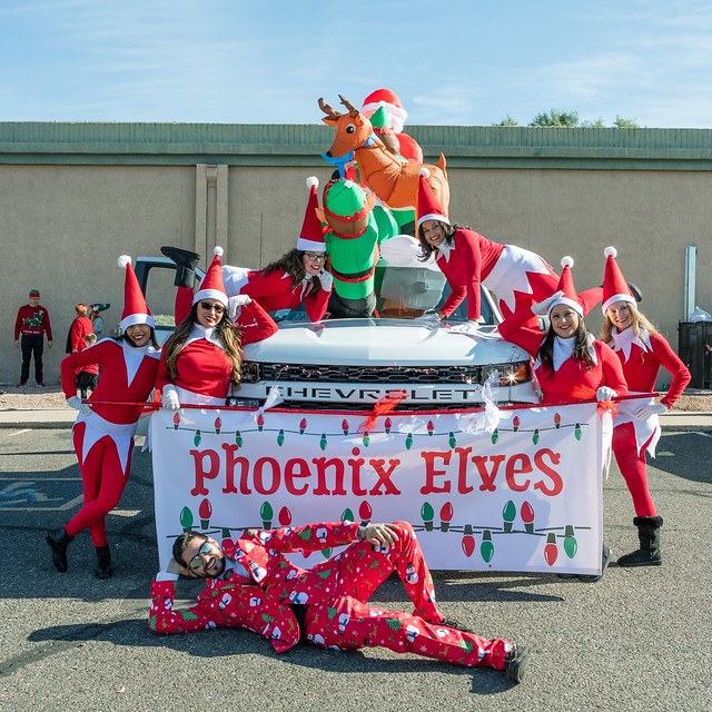 Phoenix Elves at the Glendale Hometown Christmas Parade