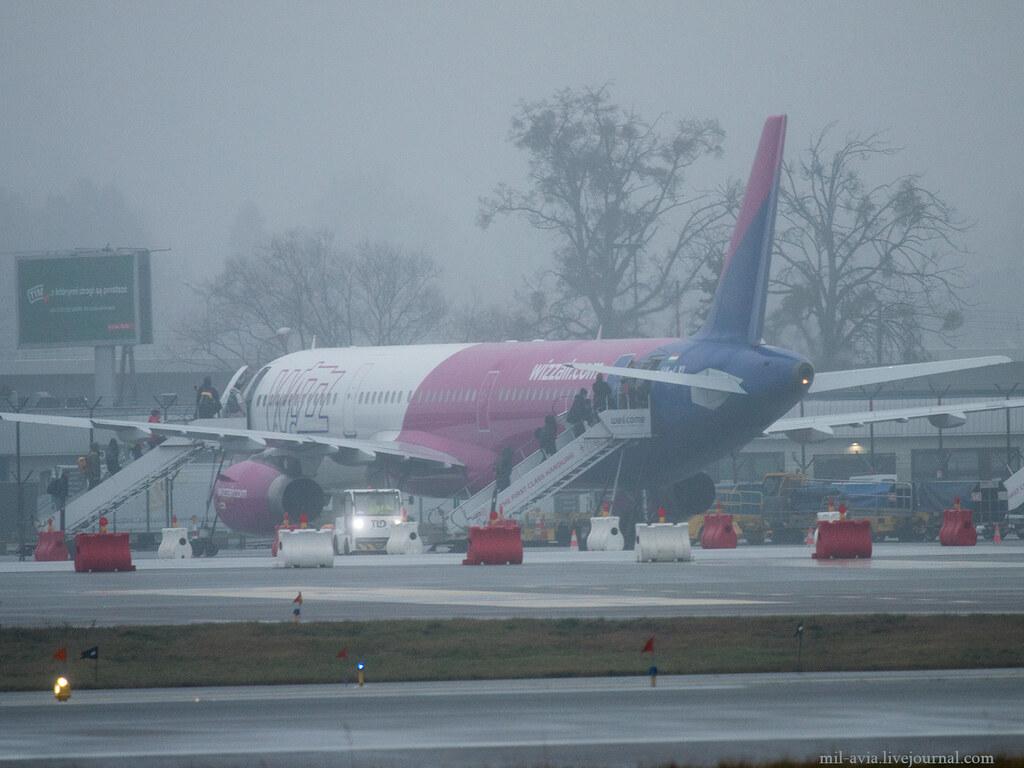Wizz Air boarding