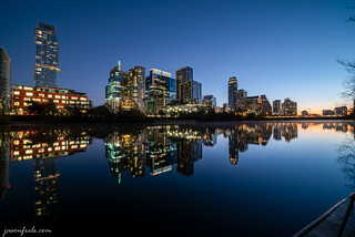 Austin in a Cloudless Twilight