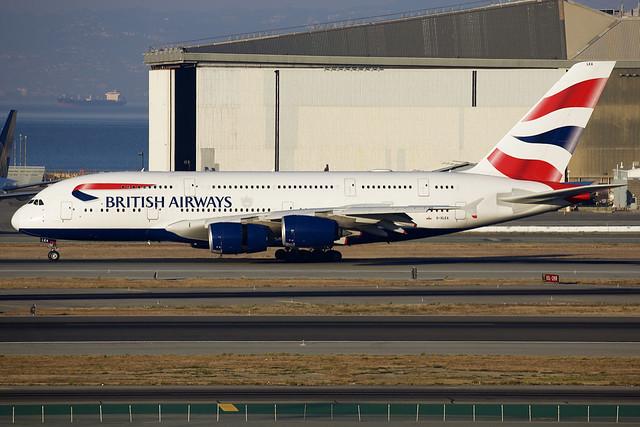 British Airways | Airbus | A380-841 | G-XLEA