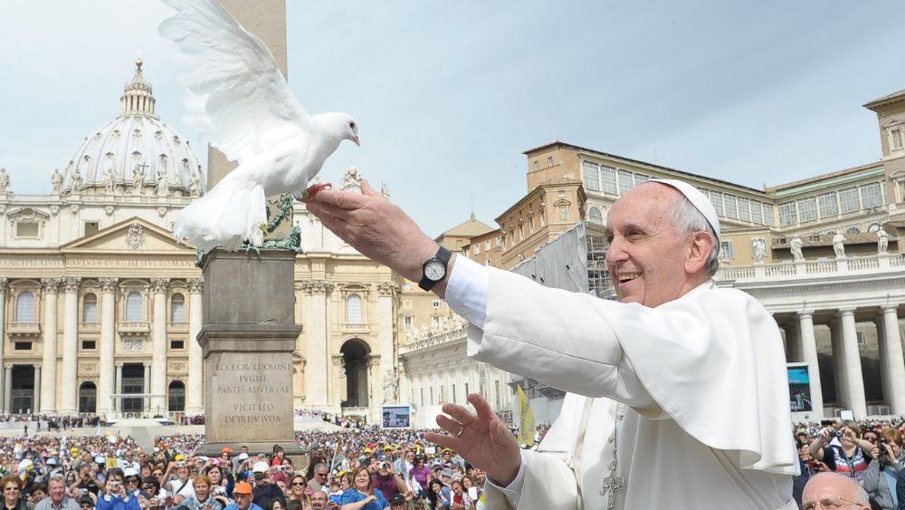 Mensaje del Papa para la 53 Jornada Mundial de la Paz del 1 de enero