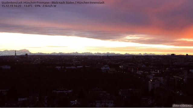 Spätnachmittag München 3. Advent