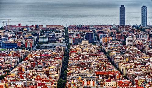 view over barcelona buena vista