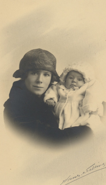 my grandmother and aunt 1920