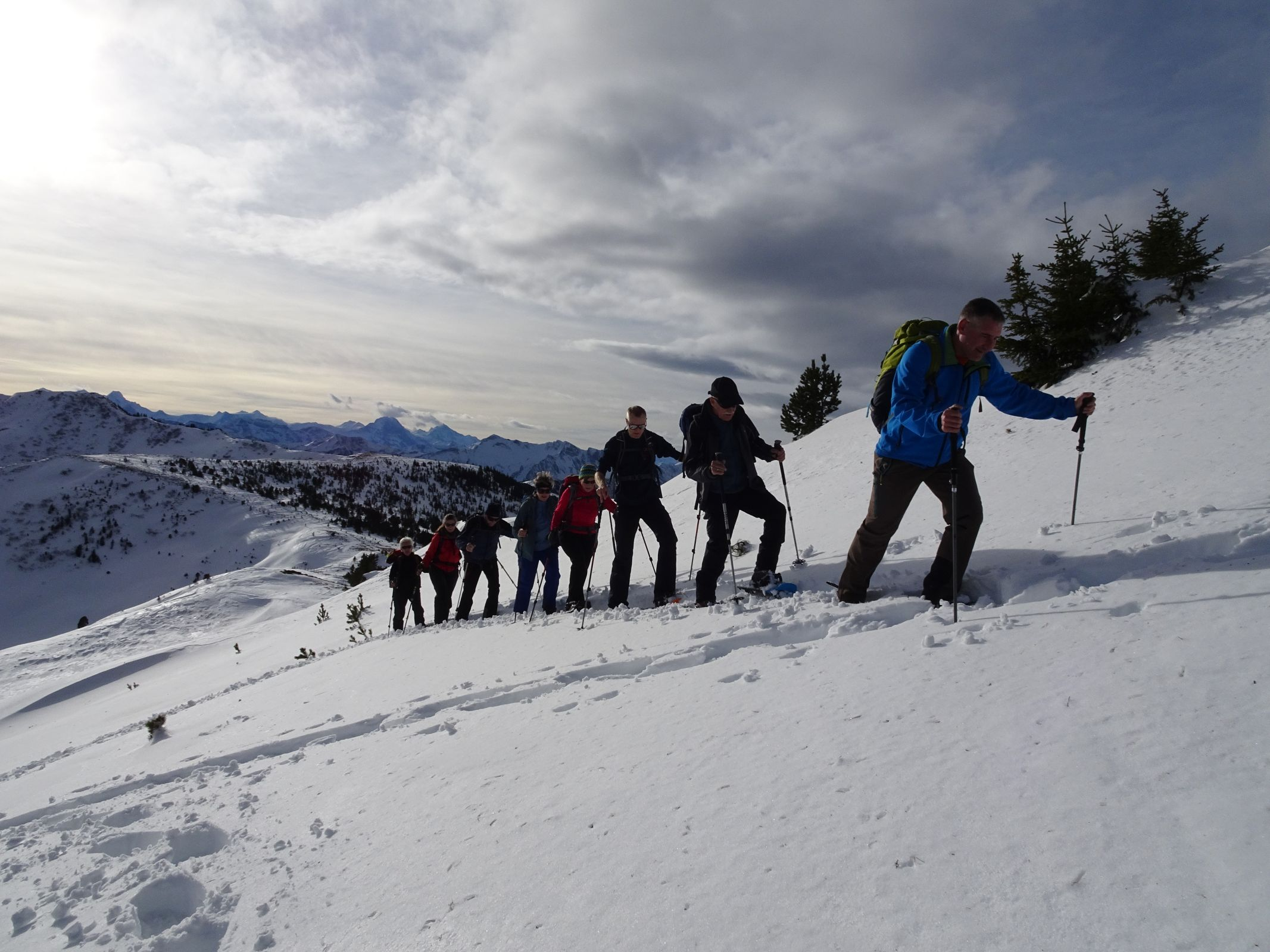 Schneeschuhtour Schnabelspitz 15.12.2019