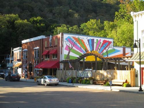 mural berkeleysprings westvirginia