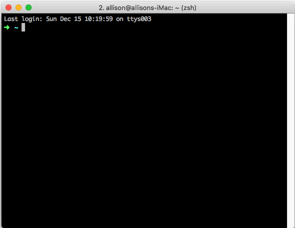 Screenshot of my iTerm2 terminal