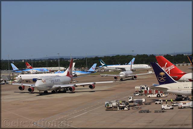 G-VGAL Boeing 747-443 Virgin Atlantic Airways