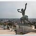 Liberty Statue  (Budapest, Hungary) by mikewinburn