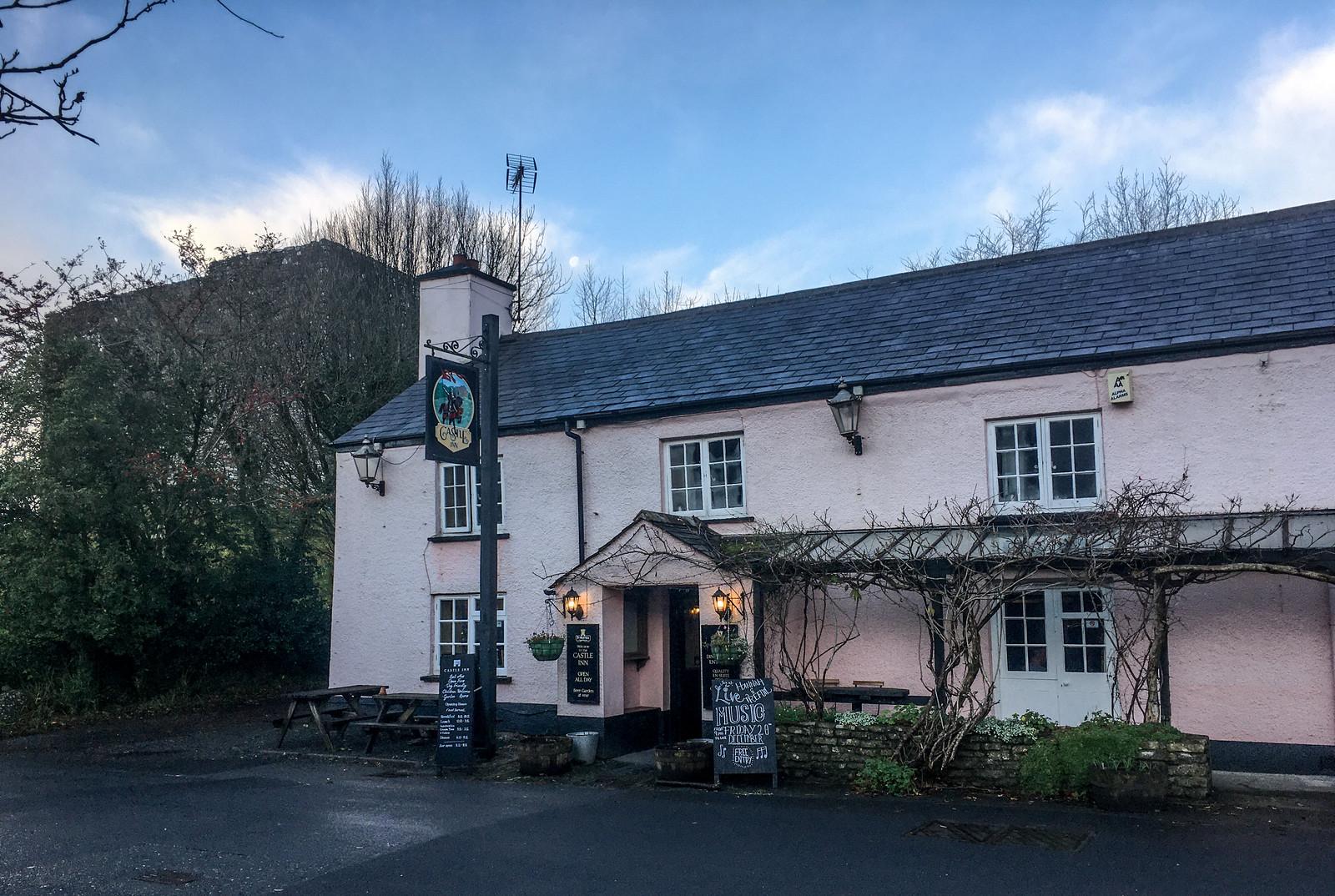 Castle Inn. Beer, food, bed