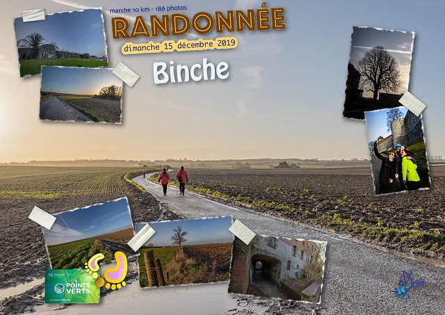 2019 - Binche - 51ème randonnée « Points Verts »
