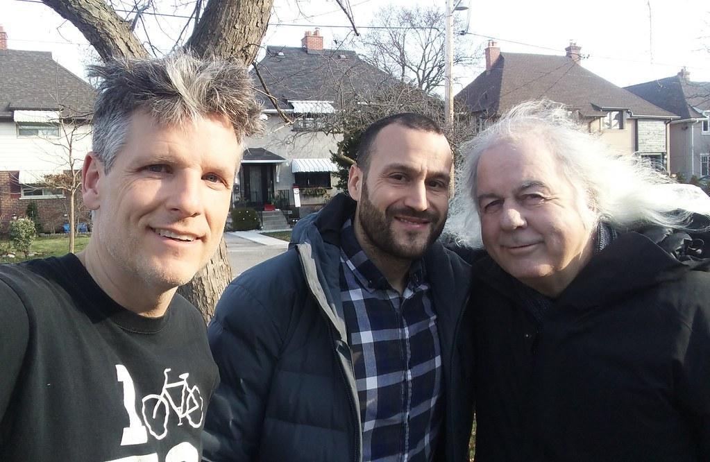 Rob Bowman and Daniel Tate and me